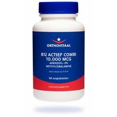 Orthovitaal B12 Actief combi 10.000 mcg (60 zuigtabletten)