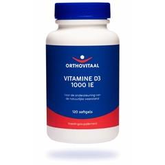 Orthovitaal Vitamine D3 1000 ie I 25mcg (120 softgels)