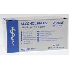 Romed Alcoholdoekjes (100 stuks)