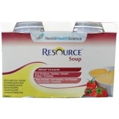 Resource Soup zomergroenten 200 ml (4 stuks)