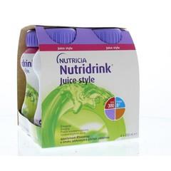 Nutridrink Juice style appel (4 stuks)