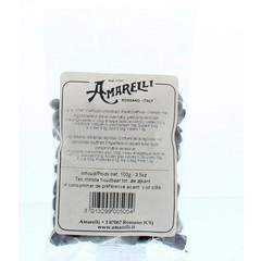 Amarelli Laurierdrop zakje kleine stukjes (100 gram)