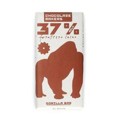 Chocolatemakers Gorilla bar melk 37% bio (85 gram)