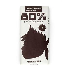 Chocolatemakers Awajun 80% fairtrade bio (85 gram)
