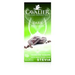 Cavalier Chocolade dark 85% gezoet met stevia (85 gram)