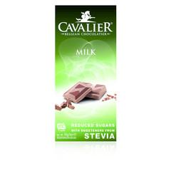 Cavalier Chocolade milk gezoet met stevia (85 gram)