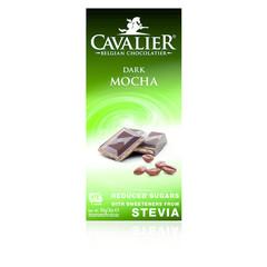 Cavalier Chocolade dark mocha gezoet met stevia (85 gram)