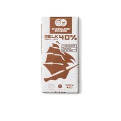 Chocolatemakers Tres hombres 40% met zeezout bio (85 gram)