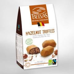 Belvas Praline hazelnoot truffels bio (100 gram)