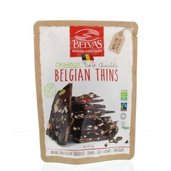 Belvas Thins puur goji amandel bio (120 gram)