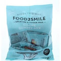 Food2Smile Gimme gummy mix uitdeel 10 x 20 gram (200 gram)