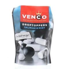 Venco Droptoppers salmiak mint (210 gram)