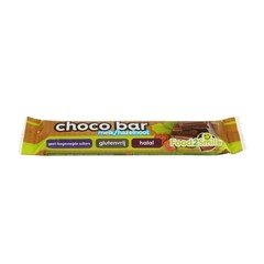 Food2Smile Chocoladereep melk hazelnoot glutenvrij (35 gram)