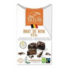 Belvas Brut de noir 82% bio (100 gram)