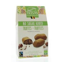 Belvas Hazelnoot praline truffels bio (100 gram)