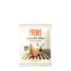 Go Pure Chips sweet potato & rosemary bio (40 gram)