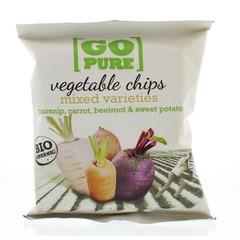 Go Pure Chips groente bio (40 gram)