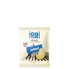 Go Pure Chips naturel gezouten bio (40 gram)