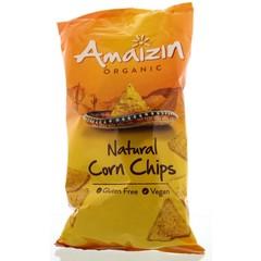 Amaizin Corn chips natural bio (250 gram)