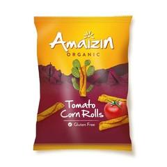 Amaizin Corn rolls tomaat bio (100 gram)