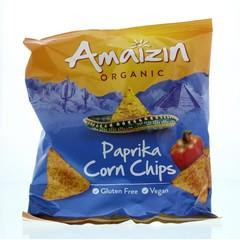 Amaizin Corn chips paprika bio (75 gram)