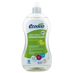 Ecodoo Afwasmiddel vloeibaar ontvettend limoen (500 ml)