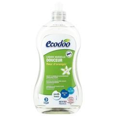 Ecodoo Afwasmiddel vloeibaar zacht oranjebloesem (500 ml)