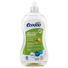 Ecodoo Afwasmiddel en handzeep zacht 2 in 1 amandel (500 ml)