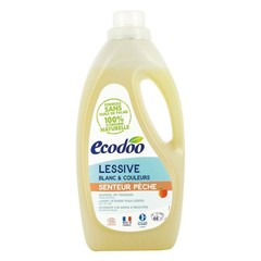 Ecodoo Wasmiddel vloeibaar perzik (2 liter)