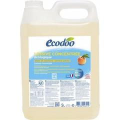 Ecodoo Wasmiddel geconcentreerd perzik (5 liter)
