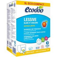 Ecodoo Wasmiddel perzik bag in box (5 liter)