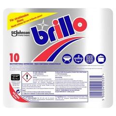 Brillo Multifunctionele schuurspons (10 stuks)