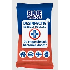 Blue Wonder Desinfectie wipes (20 stuks)