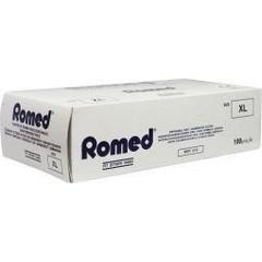 Romed Vinyl handschoen niet steriel gepoederd XL (100 stuks)