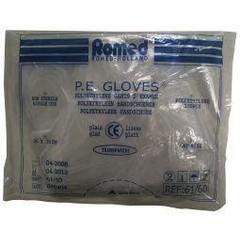 Romed Polyester handschoen glad dik (100 stuks)