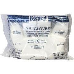 Romed Polyester handschoen ruw (100 stuks)