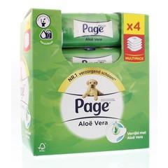 Page Vochtig toiletpapier navul skin kind aloe 4-pack (152 stuks)