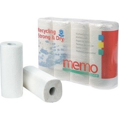 Memo Keukenrol 3 laags (4 stuks)