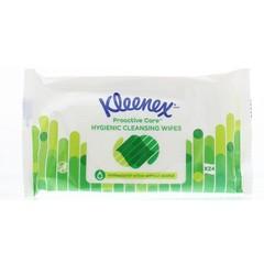 Kleenex Water fresh wipes gentle (24 stuks)