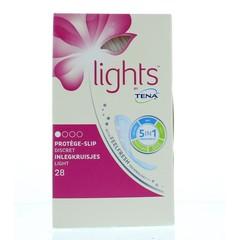 Tena Lights inlegkruisjes (28 stuks)