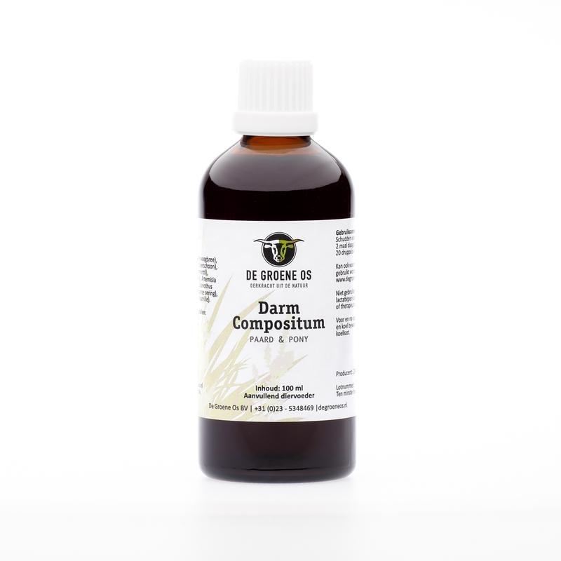 Groene Os Darm compositum paard/pony (100 ml)
