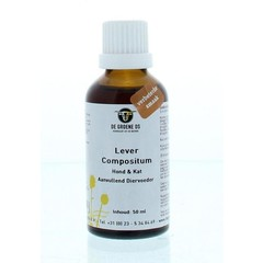 Groene Os Lever compositum hond/kat (50 ml)
