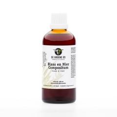 Groene Os Blaas nier compositum paard/pony (100 ml)