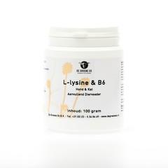 Groene Os L-Lysine en Vitamine B6 hond/kat (100 gram)