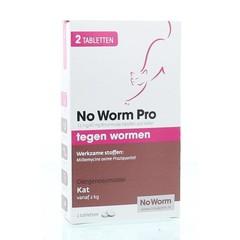 Exil No worm pro kat (2 tabletten)