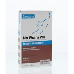 Exil No worm pro hond M (2 stuks)