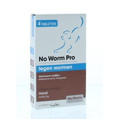 Exil No worm pro hond L (4 tabletten)