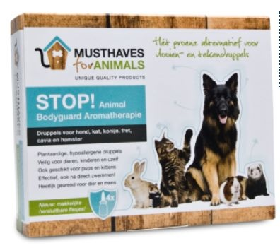 Musthaves Stop animal bodyguard aromatherapie 8 ml (4 stuks)