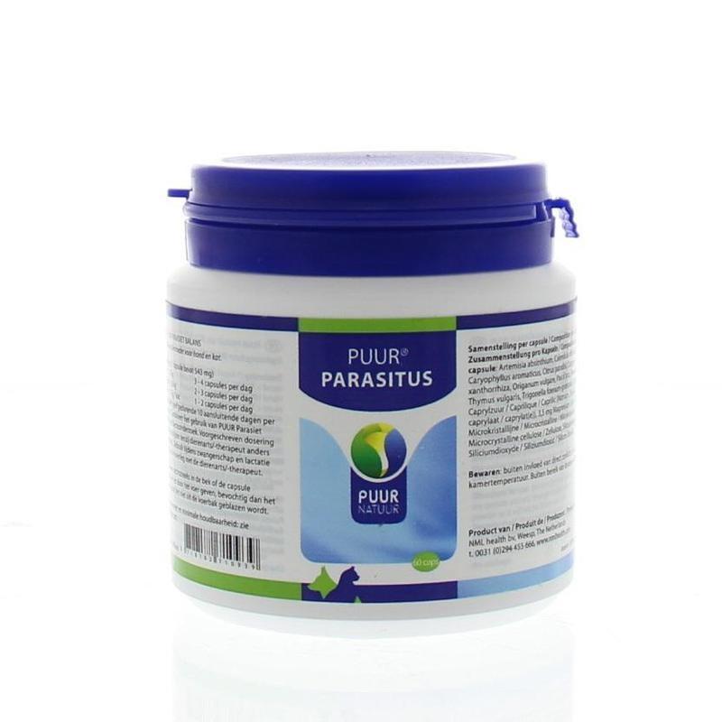 Puur Parasitus (60 capsules)