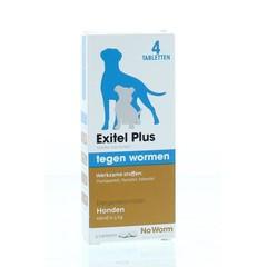 Exitel No worm hond medium (4 tabletten)